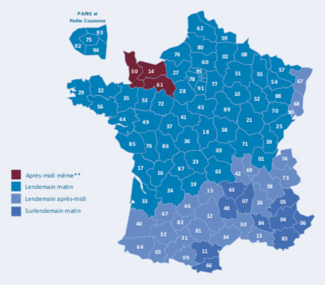 Carte France Express